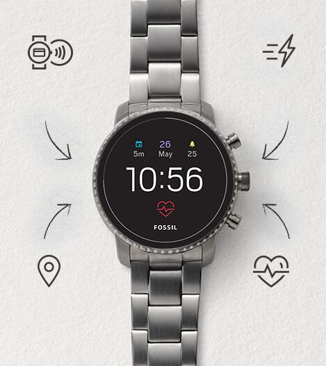 Touchscreen Smartwatch Q Explorist