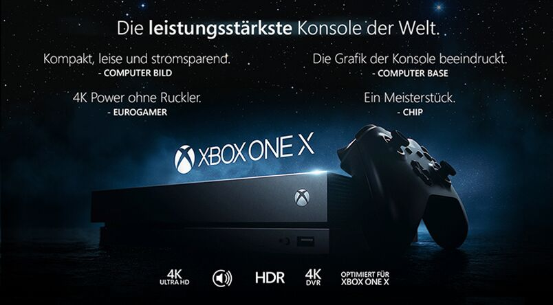 xbox one x 1tb konsole 2 controller forza 7 nba2k18 alles. Black Bedroom Furniture Sets. Home Design Ideas