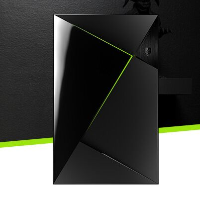 Sofort startklar mit NVIDIA® SHIELD™ TV Base (16 GB).