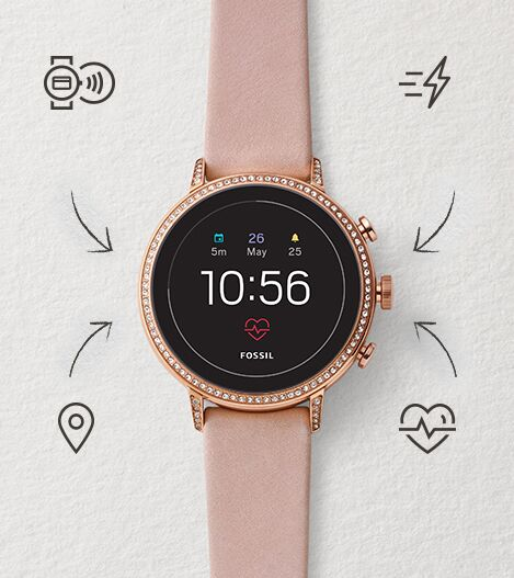 Touchscreen Smartwatch Q Venture