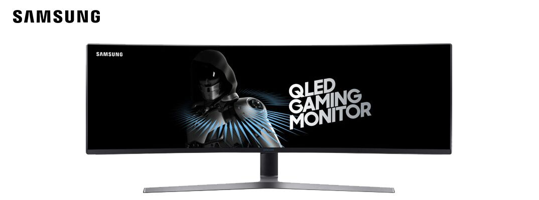 Curved QLED Gaming Monitor