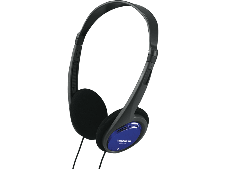 PANASONIC  RP-HT010 E-A, On-ear Kopfhörer, Blau | 05025232274369