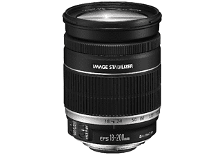 CANON EF-S 18-200mm f/3.5-5.6 IS Obiettivo zoom (Nero)