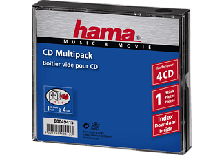 HAMA 49415 MULTIPACK FOR 4 CDS