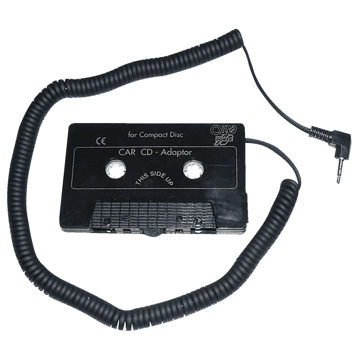 AIV 530110 CD/MP3 Adapter Kassette 530110, Kassetten Adapter, Schwarz