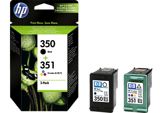 HP 350+351 Combo-Pack Schwarz+Colour