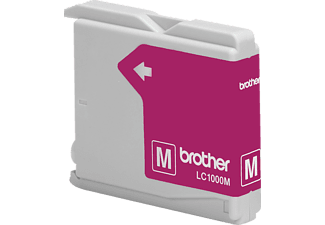 BROTHER Original Tintenpatrone Magenta (LC-1000M)