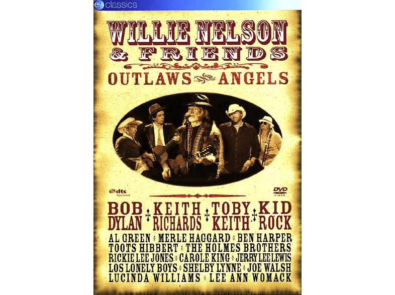 Willie Nelson, VARIOUS - Nelson, Willie & Friends, Outlaws And Angels [DVD]