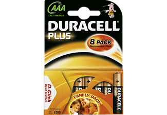 DURACELL AAA PLUS 8KP SPECIAL OFFER