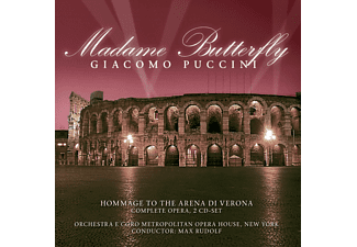 Giacomo Puccini - Madame Butterfly - (CD)