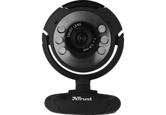 TRUST 16429 SpotLight Webcam, Webcam, Schwarz