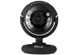 TRUST 16428 SpotLight Webcam Pro, Webcam, Schwarz