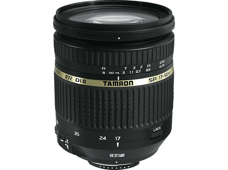 TAMRON SP 17-50mm F/2.8 Di II VC , 17 mm - 50 mm