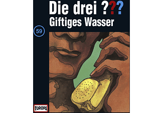 SONY MUSIC ENTERTAINMENT (GER) Die drei ??? 59: Giftiges Wasser