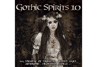 VARIOUS - Gothic Spirits 10 - (CD)