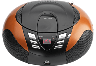 LENCO SCD-37 USB Radio portable Orange