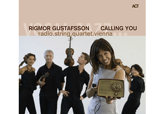 Rigmor Gustafsson, Radio String Quartet Vienna - Calling You - (CD)
