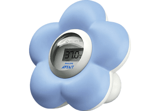 PHILIPS Avent SCH550/20, Bad-& Raumthermometer, Blau