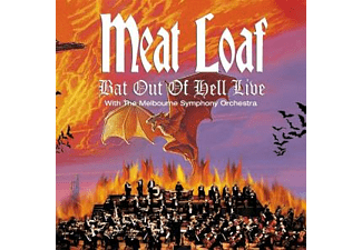 Meat Loaf BAT OUT OF HELL LIVE Pop CD