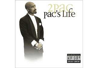 Tupac Shakur Pac's Life HipHop CD