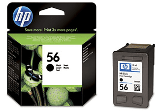 HP 56 Inktcartridge Zwart
