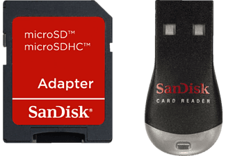 SANDISK Mobilemate Duo Kaartlezer + MicroSD Adapter