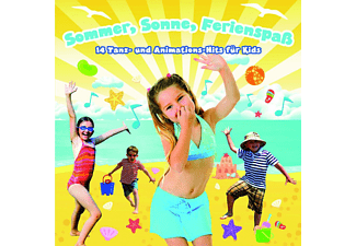 Friendz, Kidz & Friendz - Sommer, Sonne, Ferienspaß-Animationshits Für Kids - (CD)