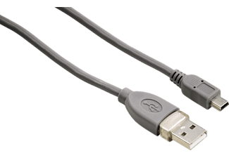HAMA Mini-USB-kabel 1 ster 1,8m