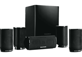 Home Cinema - Harman Kardon HKTS 9BQ/230 Negro, Sistema 5.1