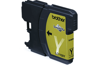 BROTHER Original Tintenpatrone Gelb (LC-1100Y)