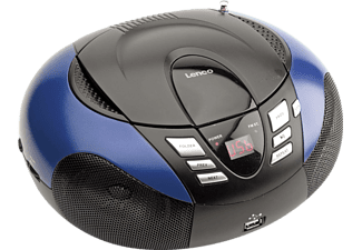 LENCO SCD-37 USB Radio portable Bleu