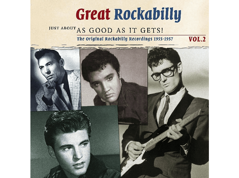 VARIOUS - Great Rockabilly 2: Just About As Good As It [CD]