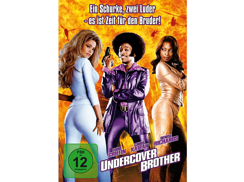 UNDERCOVER BROTHER [DVD]
