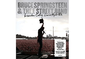 The E Street Band LONDON CALLING LIVE IN HYDE PARK Pop DVD + Video Album