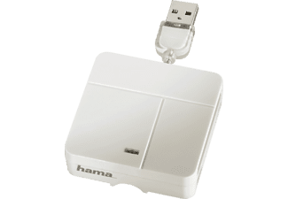 HAMA 94125 Multi Card Reader All In One blanc