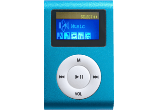 DIFRNCE DF-MP 855, MP3 Player, 4 GB, Akkulaufzeit: 7 Std., Blau