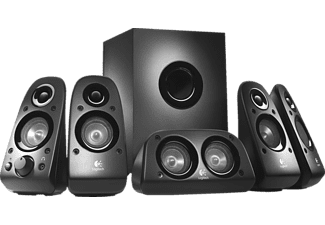 Altavoces para PC - Logitech Z506, 75W, 5.1, 3D, color negro