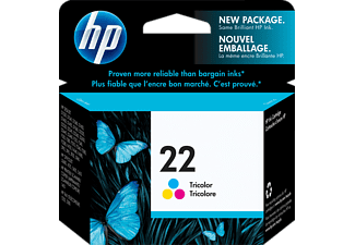 HP 22 XL 3-kleuren inktcartridge