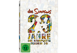 Die Simpsons - Staffel 20 - (DVD)