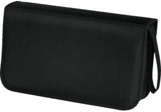 HAMA CD/DVD-Wallet 80 Zwart