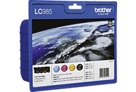 BROTHER LC 985 Tintenpatrone Value Pack Cyan (LC-985VALBPDR)