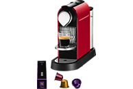 KRUPS XN7006 Nespresso Citiz Espressomaschine, Fire-Engine Red
