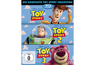 Toy Story 1-3 (BD) [Blu-ray]