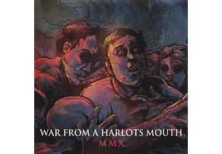 War From A Harlots Mouth MMX Heavy Metal CD + DVD Video