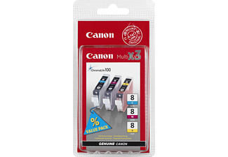 CANON CLI-8 CMY Multipack
