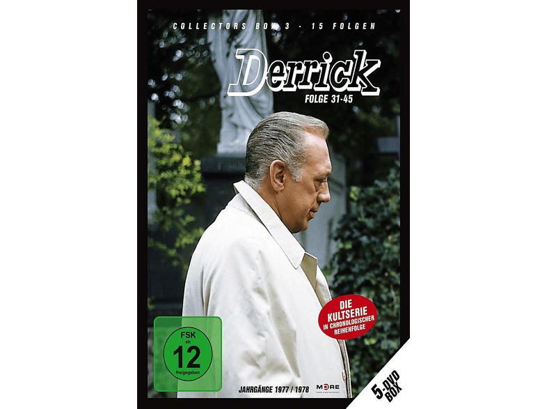 Derrick: Collector's Box Vol. 3 (Folge 31-45) [DVD]