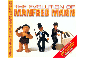 Manfred Mann, Manfred Mann's Earth Band - The Evolution Of... - (CD + DVD Video)