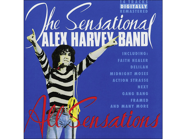 Alex Sensational B Harvey - All Sensations [CD]