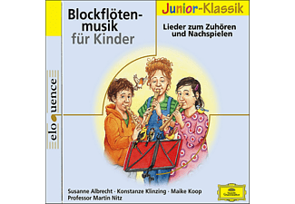 VARIOUS - BLOCKFLÖTENMUSIK FÜR KINDER (ELOQUENCE JUNIOR) - (CD)