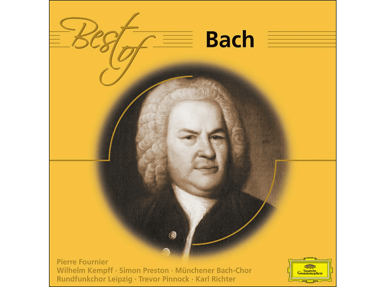 VARIOUS - Best Of Bach [CD]